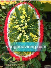 Vòng hoa tang lễ tại Hà Đông