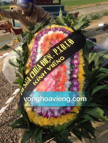 vòng hoa viếng tại nghệ an