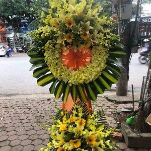 Vòng hoa tang lễ tại hà tĩnh