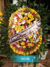 Vòng hoa tang lễ tại Hưng Yên