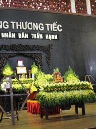 Lễ Viếng NSND Trần Hạnh Tại Số 5 Trần Thánh Tông